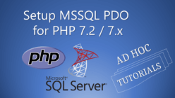 MSSQL+PDO+PHP