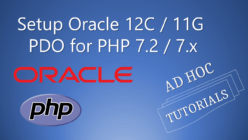Oracle+PDO+PHP