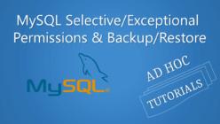 MySQL_Selective